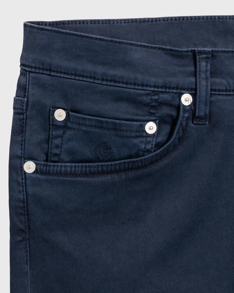 GANT Erkek Koyu Lacivert Denim Pantolon