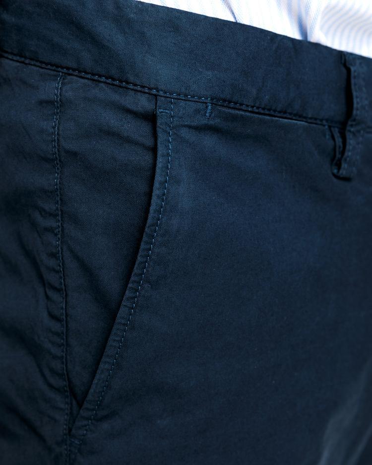 GANT Erkek Lacivert Chino Pantolon