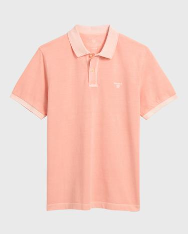 GANT Erkek Şeftali Rengi Regular Fit Pique Rugger Polo