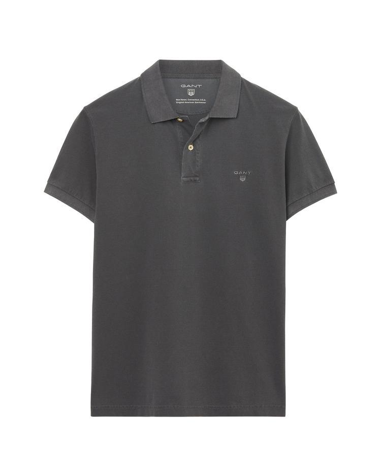 Gant Erkek Gri Regular Fit Polo