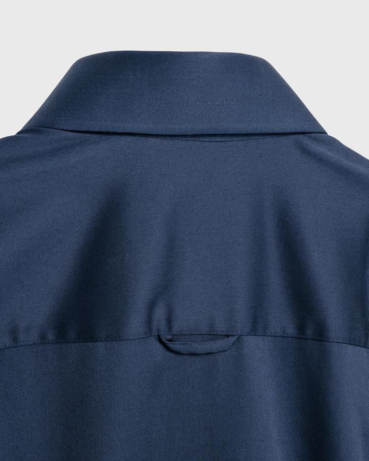 GANT Kadın Lacivert Gömlek Elbise