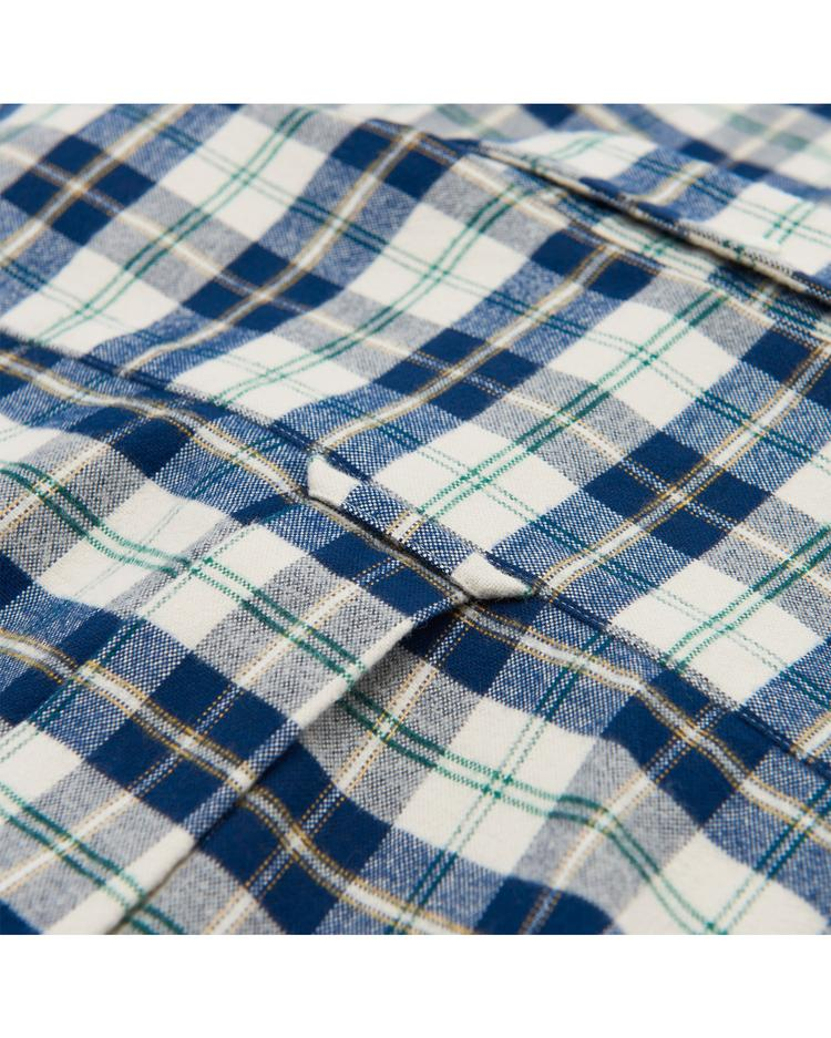 Gant Erkek Kareli Oxfort Regular Fit Gömlek