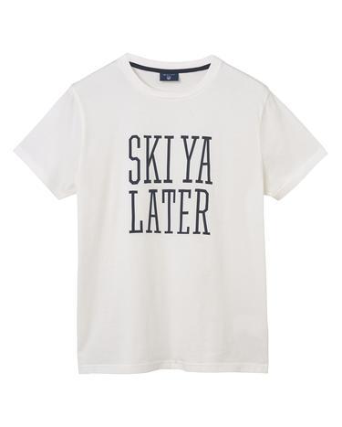 GANT Erkek Krem Rengi T-Shirt