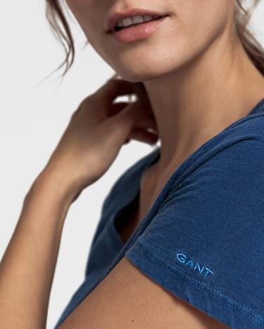 GANT Kadın Mavi T-Shirt