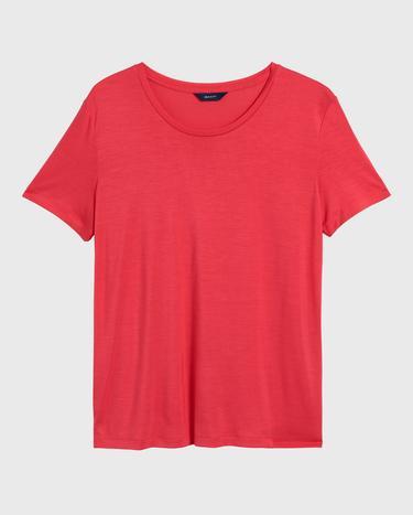 GANT Kadın Kırmızı Lightweight T-Shirt