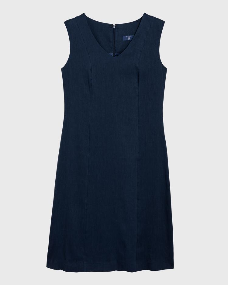 GANT Kadın Lacivert Keten Elbise