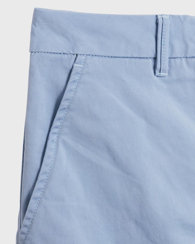 GANT Kadın Mavi Klasik Chino Etek