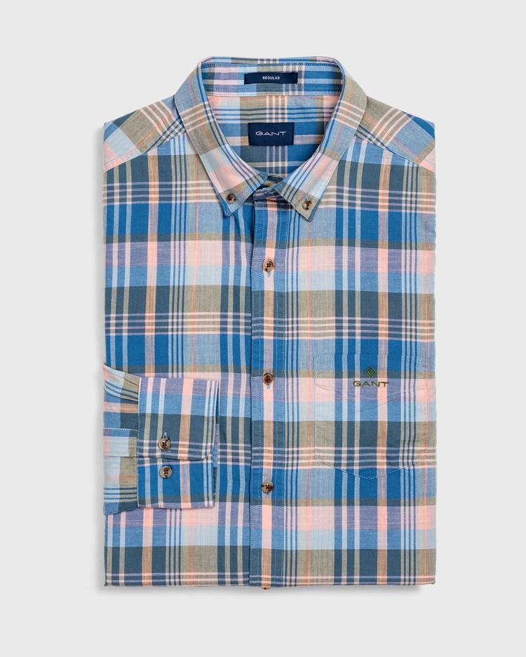 GANT Erkek Şeftali Regular Fit Gömlek