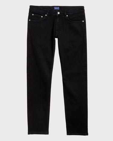 GANT Erkek Siyah Denim Pantolon
