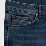 GANT Erkek Lacivert Denim Pantolon