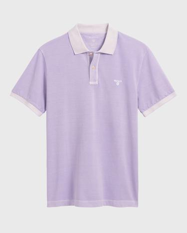 GANT Erkek Lila Regular Fit Pique Rugger Polo