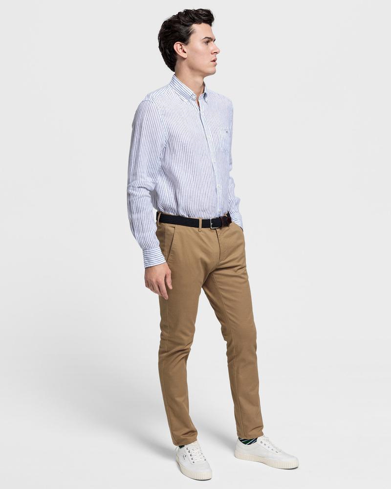 GANT Erkek Kahverengi Tech Prep Pantolon