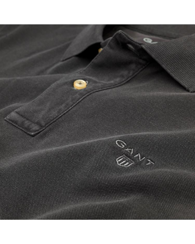 GANT Erkek Gri Regular Fit Polo