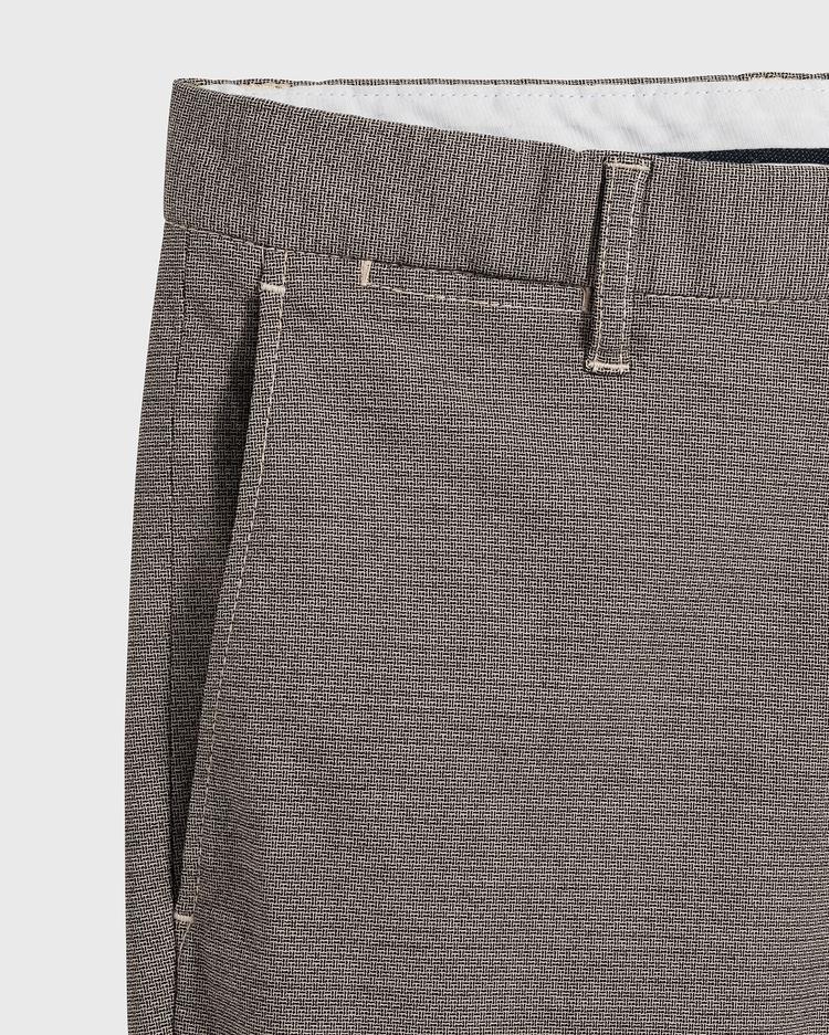 GANT Erkek Slim Fit Signature Weave Baskılı Pantolon