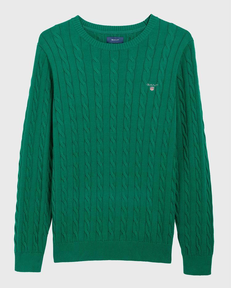 Gant Erkek Yeşil Triko
