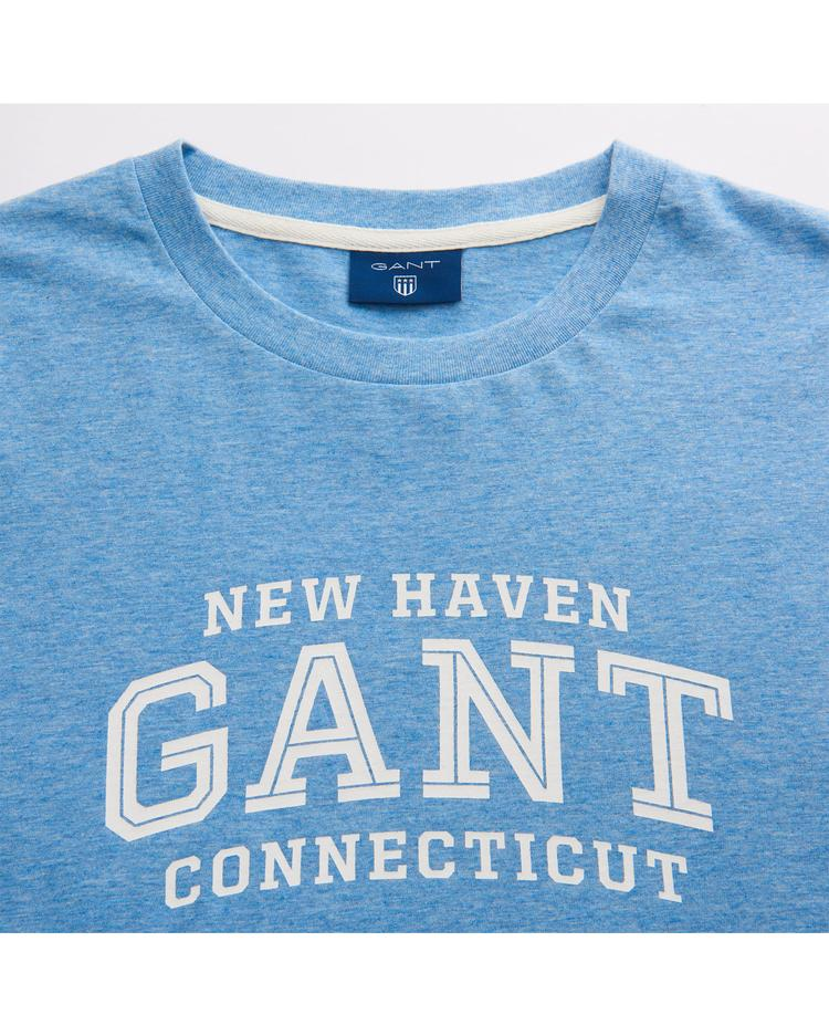 GANT Erkek Mavi T-Shirt