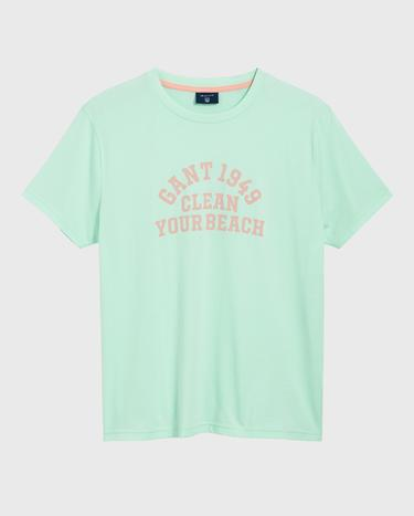 GANT Erkek Yeşil T-Shirt