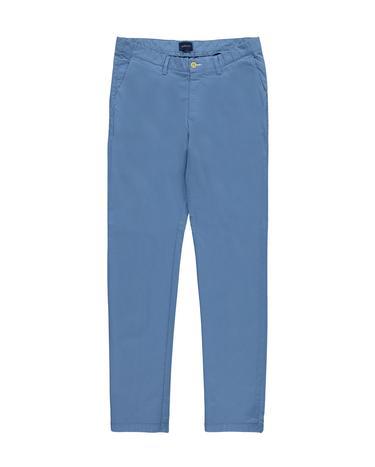 GANT Erkek Mavi Chino Pantolon