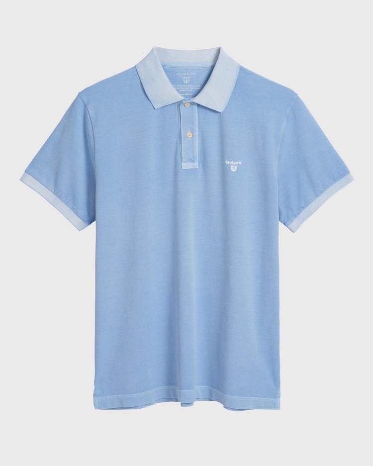 GANT Erkek Açık Mavi Regular Fit Pique Rugger Polo