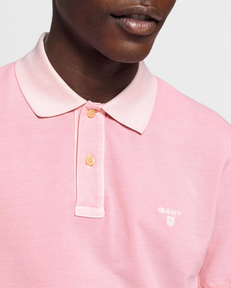 GANT Erkek Pembe Regular Fit Pique Rugger Polo