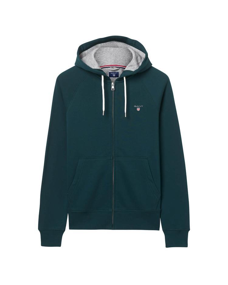 GANT Erkek Yeşil Kapuşonlu Sweatshirt