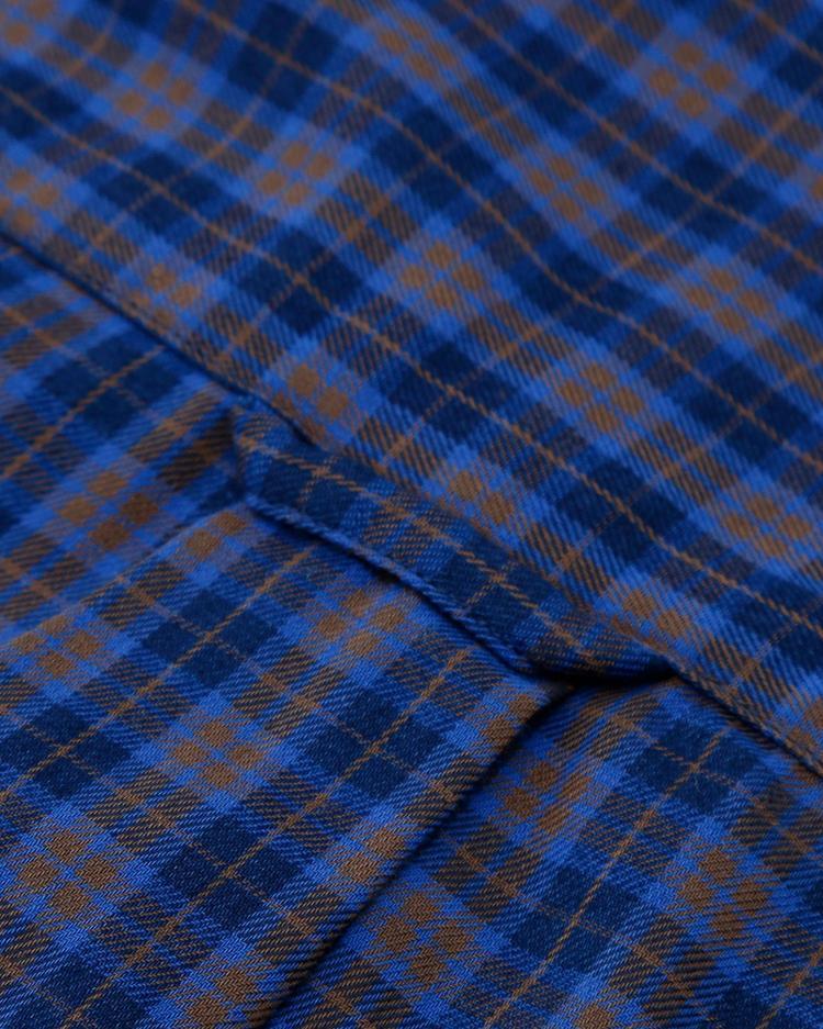 Gant Erkek Tech Prep Lacivert Kareli Gömlek