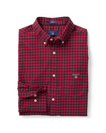 Erkek Kırmızı Winter Twill Gömlek