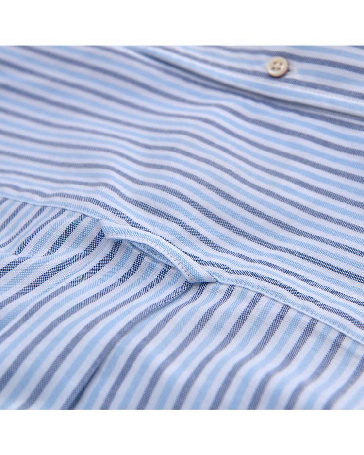 Erkek Mavi Oxford Two Gömlek