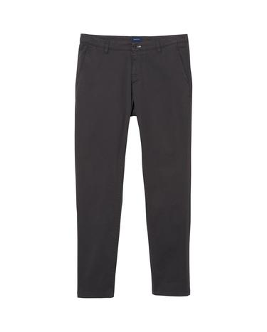 GANT Erkek Gri Slim Chino Pantolon Pantolon