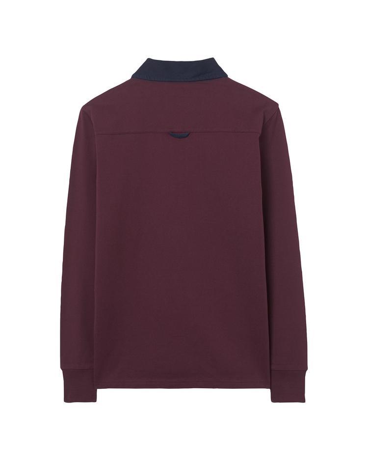 Erkek Bordo The Original Heavy Rugger Sweatshirt