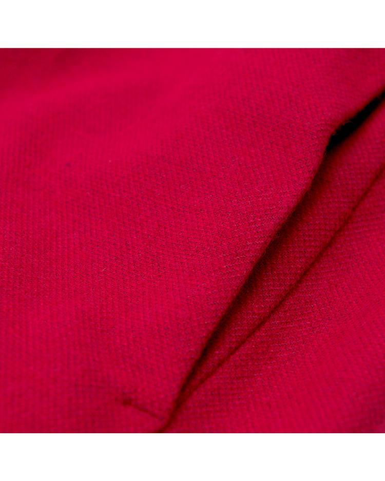 GANT Kadın Kırmızı Washable Flannel Dress Elbise