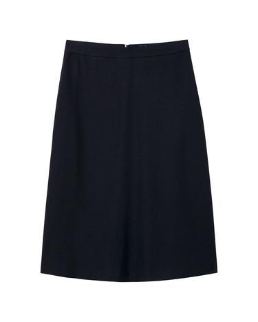 Kadın Lacivert Washable Flannel Skirt Etek