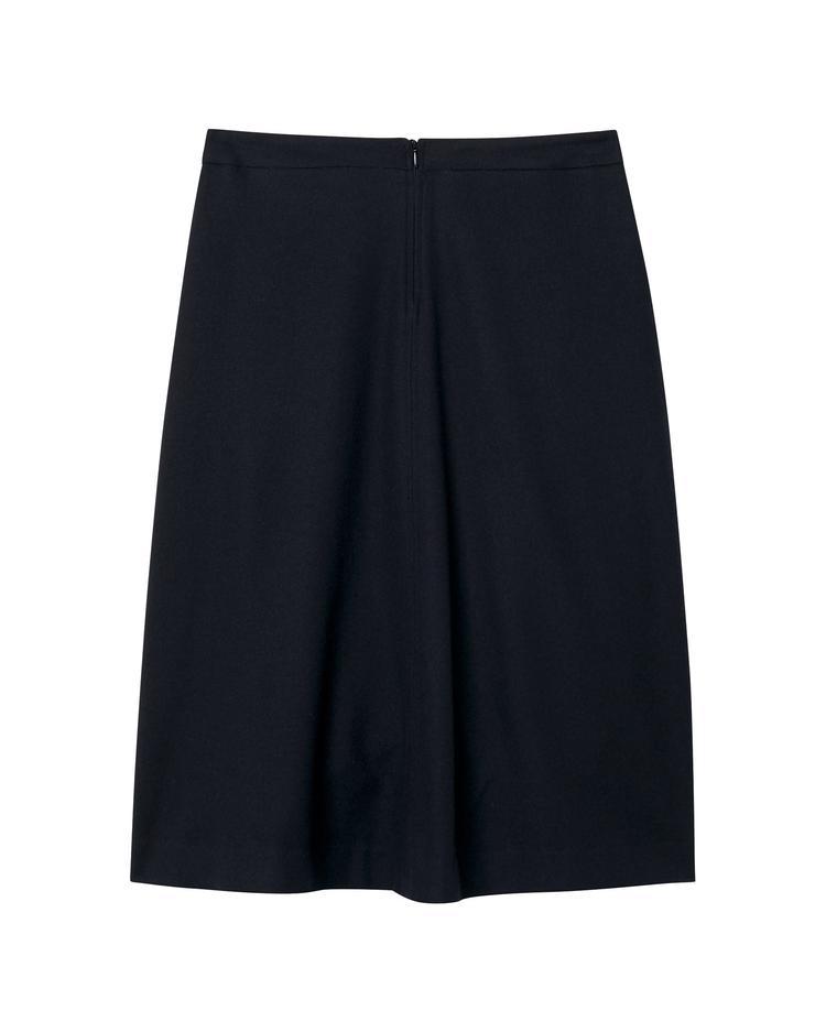 GANT Kadın Lacivert Washable Flannel Skirt Etek