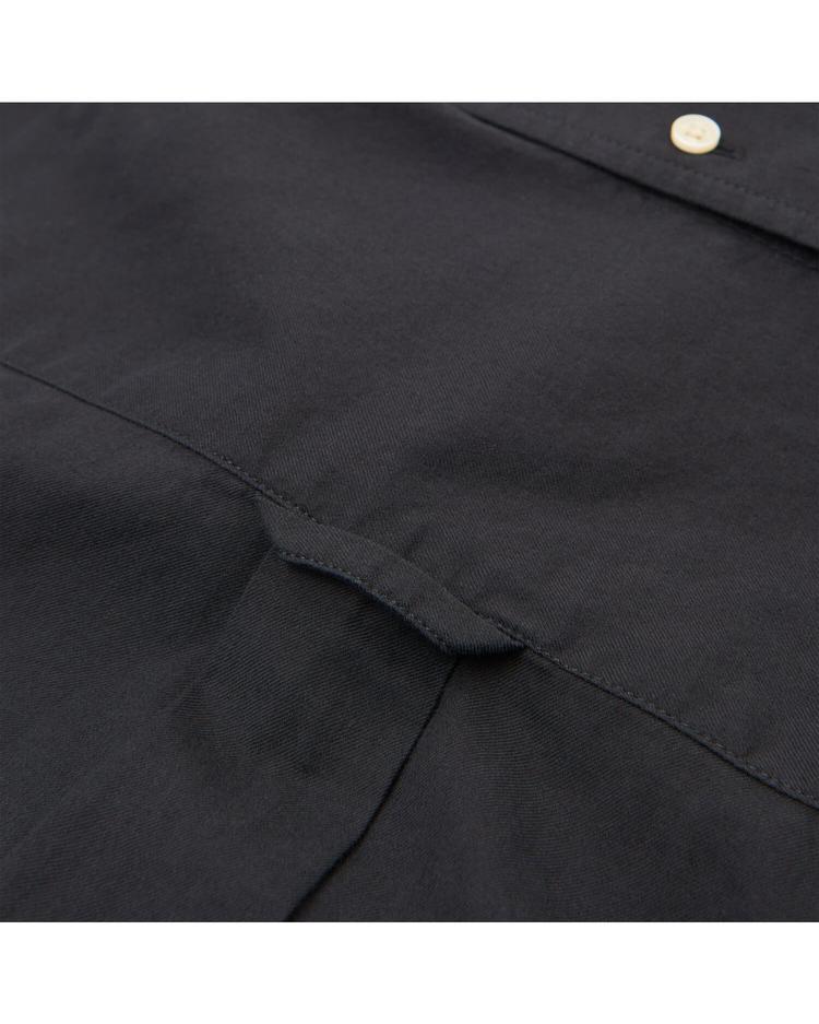 GANT Erkek Siyah Regular Twill Gömlek