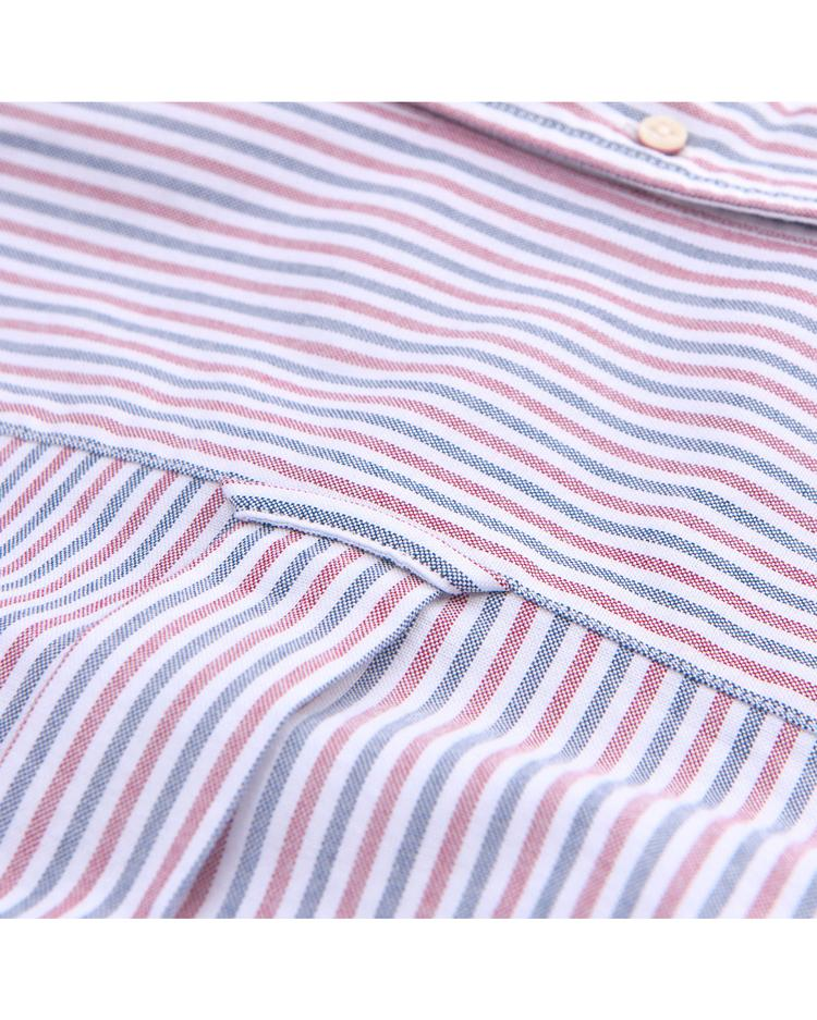 GANT Erkek Çizgili Oxford Two Gömlek
