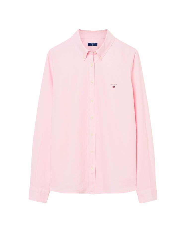 Kız Çocuk Pembe Regular Oxford Gömlek