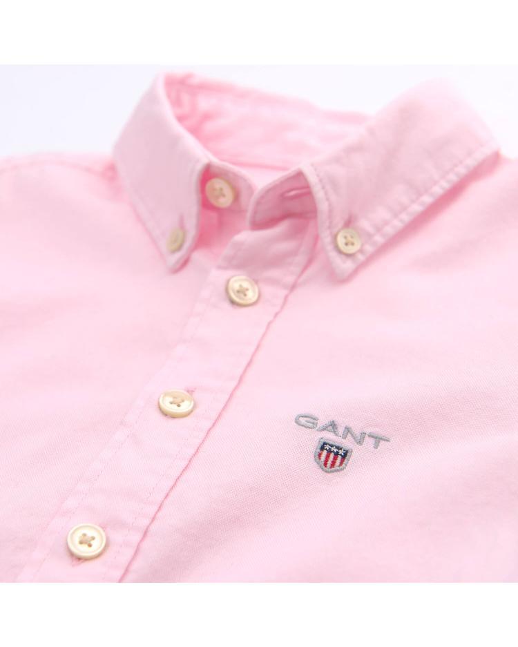 Gant Çocuk Pembe Regular Oxford Gömlek