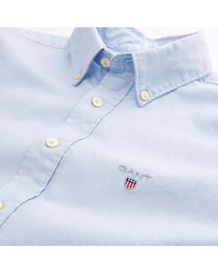 Erkek Çocuk Mavi Regular Oxford Gömlek