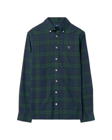 Çocuk Yeşil Teen Boys Twill Blackwatch Gömlek