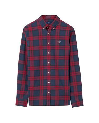 Çocuk Kırmızı Teen Boys Twill Blackwatch Gömlek