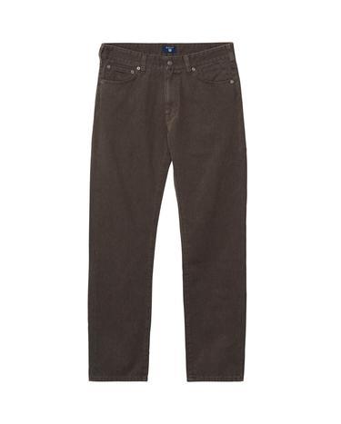 GANT Soft Twill Erkek Kahverengi Regular Jean