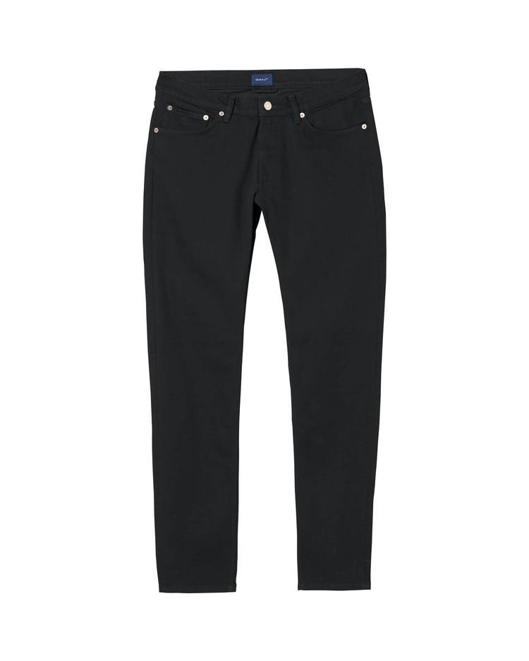 GANT Erkek Tech Prep Siyah Jean Pantolon
