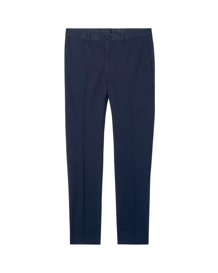 Erkek Lacivert Slim Pantolon Pantolon