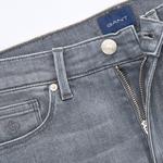 GANT Kadın Gri Skinny Denim Pantolon