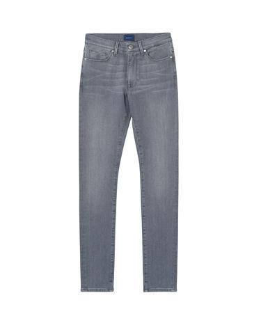 Kadın Gri Jean Skınny Super Stretch Jeans Pantolon