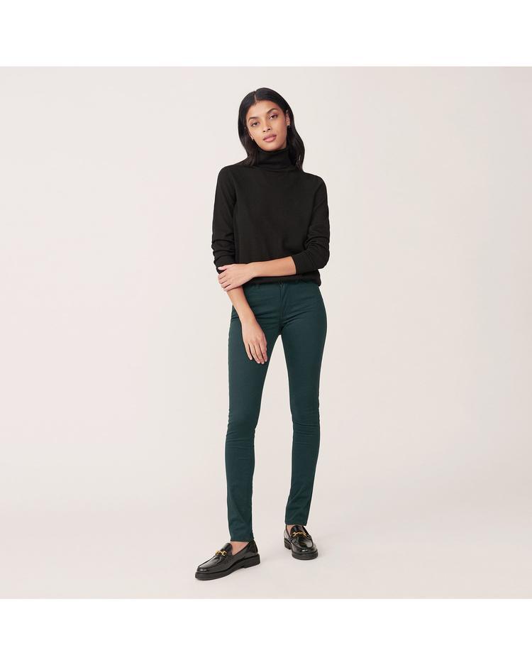 Kadın Yeşil Jean Skinny Jean Pantolon