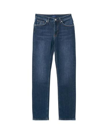Kadın Mavi Jean Slim Classic Jeans Pantolon