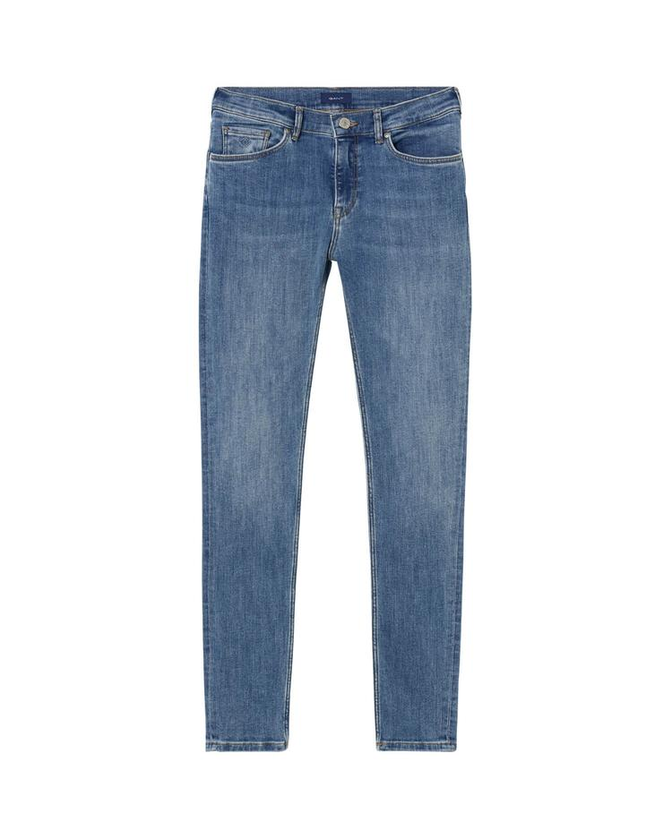 Kız Çocuk Mavi Slim Jean