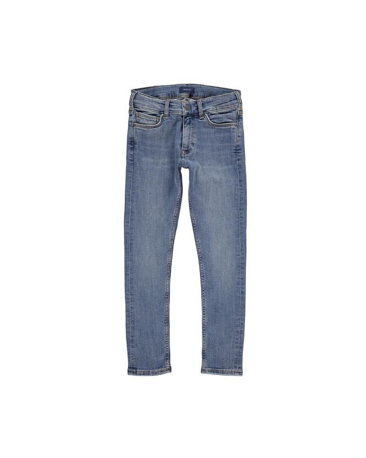 Erkek Çocuk Mavi Slim Jean