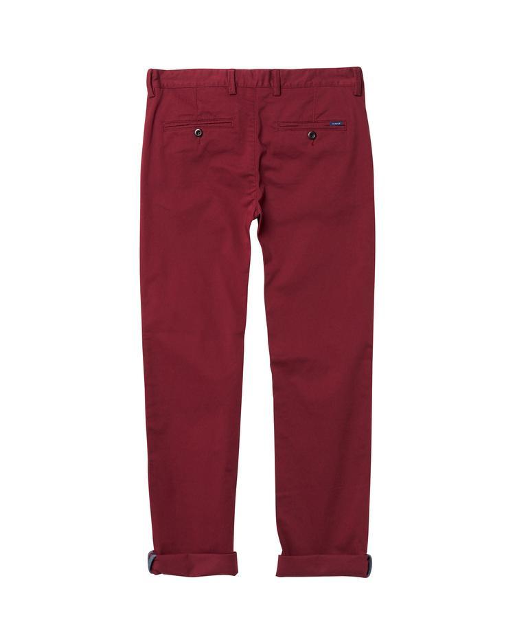 GANT Erkek Çocuk Bordo Pantolon